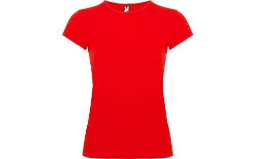Tricou simplu rosu Roly Bali dama L